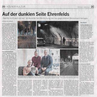 Artikel in der Kölnischen Rundschau vom 6.3.2020