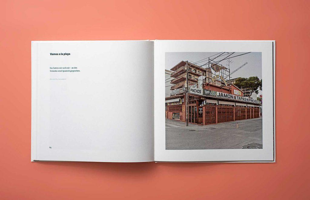 aufgeschlagene Seite 84 des Buches Ballermann5Uhr30